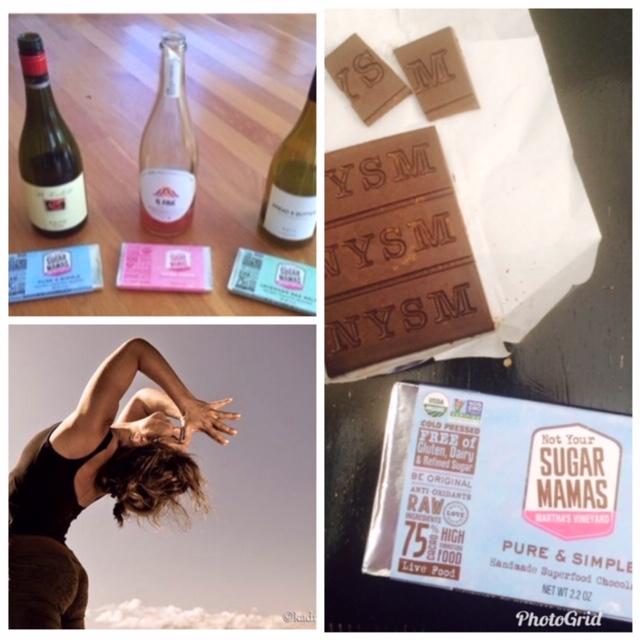 Yoga Wine Chocolate Sara Sturges