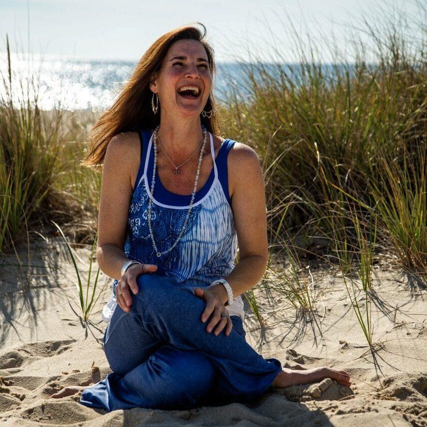 Gillian laughing